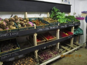 The veg share shed