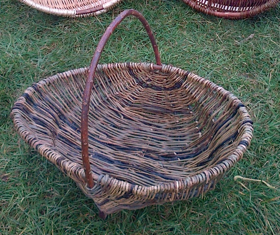 Willow Basket Weaving Somerset : Willow basket weaving work s coca